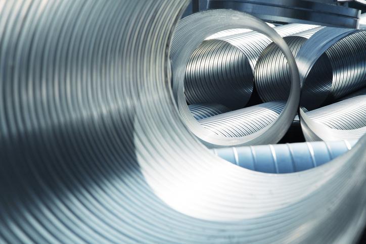 aluminiowe tuby dowentylacji